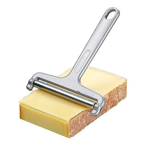 YSYDE Cheese Slicer Made Stainless Steelthe Smooth-Action Roller zorgt voor gelijkmatige plakjes snijden kaas stukken sneller en handiger.