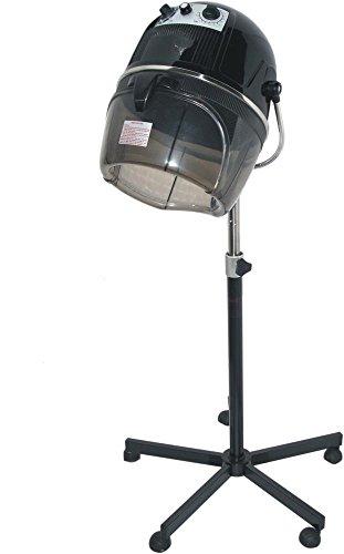D Salon Portable Professional Hair Dryer Hood 980 Watt Salon Beauty Bonnet Style – Black