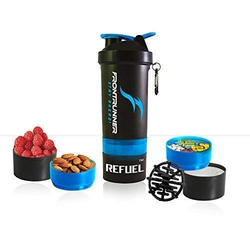 FrontRunner Fitness The Refuel Shaker - Hungry Wolf Series - Protein Shaker...