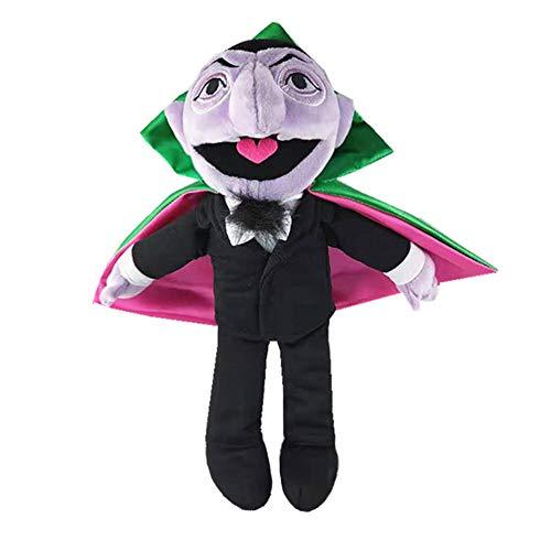 nanyin Sesame Street The Vampire Count Plush Toy 34Cm, Conde of Vampire Peluches Regalos De Cumpleaños para Niños Muñeca De Navidad