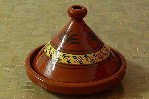 Marokkanische Tajine zum Kochen Ø 30 cm für 3-4 Personen - 905118-00031