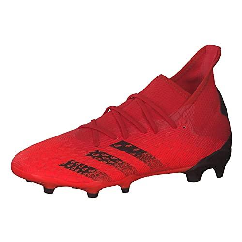 adidas Predator Freak .3 FG, Zapatillas Deportivas Hombre, Rojo/NEGBÁS/Rojsol, 42 EU