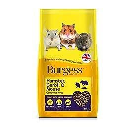 Burgess Hamster Gerbil & Mouse 750G X 3