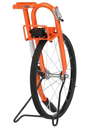 Keson MP401E Electronic Metal Frame Measuring Wheel with Spoked Wheel, 15-1/2-Inch Diameter