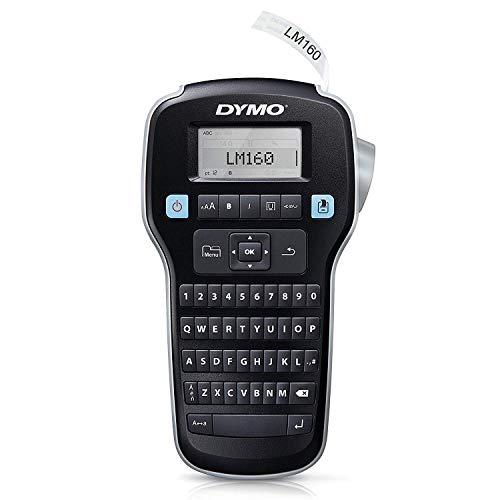 Rotuladora de mano Dymo LabelManager 160 con teclado QWERTY