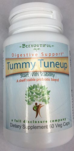 """Beeyoutiful """"Tummy Tune UP"""" Calm The Stomach Storms & Repair Damaged GI Track with This 8 Strain enteric Coated Probiotic- 60 Capsules"""