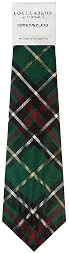 I Luv Ltd Gents Neck Tie Newfoundland Canadian Tartan Lightweight Scottish Clan Tie