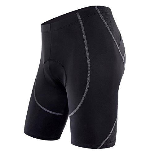 Sportneer Pantaloncini da Ciclismo da Uomo Bicicletta Pantaloncini 4D Coolmax Pantaloncini da...