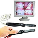 KLI Cámara intraoral Dental Endoscopio Dientes Fotografía WiFi Boroscopio Cámara de inspección Oral Herramientas dentales para PC Tableta Ordenador portátil Software de imágenes Incluido