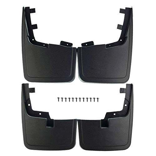 A-Premium Splash Guards Mud Flaps Mudflaps Molded Replacement for Ford F-150...