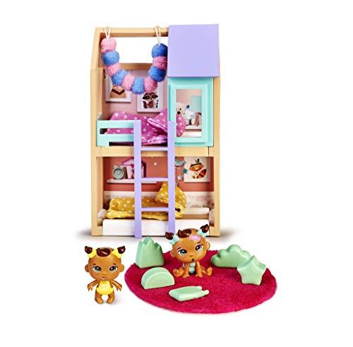 Mymy City- Shayla & Lyla, Set de muebles con figuras, para niños y niñas a partir de 3 años, (Famosa 700015597)