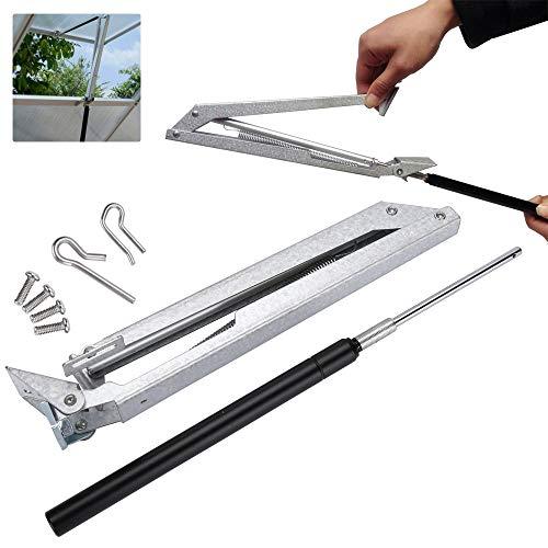 VINGO Automatischer Fensteröffner, Fensterheber Alu-Zink, für Gewächshaus, Dachlüfter, Garten, bis ca.7 kg