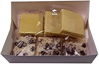 LuluPops by Lina Low Carb Keto Dessert Bars - 6 Count - Three Magic Bars with Three Net Carbs And Three Lemon Squares With Two Net Carbs