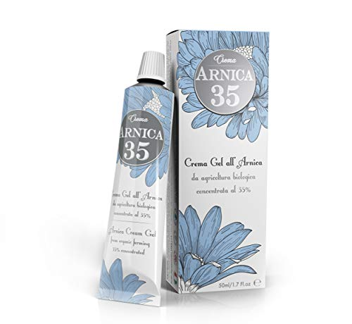 Dulàc - Arnica 35 - THE MOST CONCENTRATED - Arnica Gel Cream with a 35% concentration - 1.7 Fl.oz