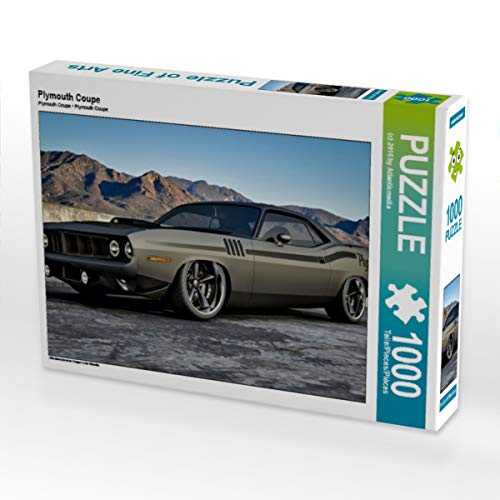 CALVENDO Puzzle Plymouth Coupe 1000 Teile Lege-Größe 64 x 48 cm Foto-Puzzle Bild von ATLANTISMEDIA