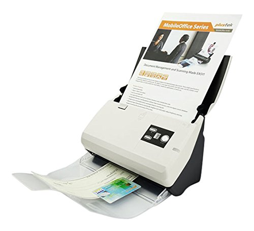 Plustek SmartOffice PS30D Duplex Dokumentenscanner (ADF, 600dpi, 30ppm) inkl. DocAction Software