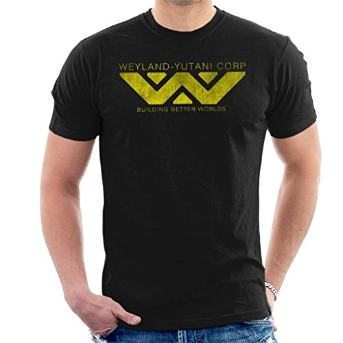 Weyland Yutani Corp Logo Alien Building Better Worlds Men's T-Shirt
