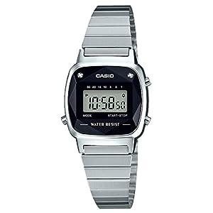 [カシオ] 腕時計 スタンダード 天然 ダイヤモンド 付 LA670WAD-1JF メンズ シルバー
