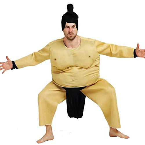 thematys® Disfraz de Luchador de Sumo para Hombre Cosplay, Carnaval y Halloween - Talla única 160-180cm