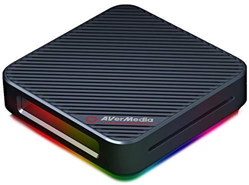 AVerMeda Live Gamer BOLT GC555 外付けゲームキャプチャー [4K HDR 60p対応] パススルー機能付 Thunderbol...