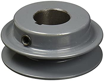 TB Woods AK2558 FHP Bored-to-size V-Belt Sheave A Belt Section 1 Groove 5/8  Bore Cast Iron 2.55  OD 9810 max rpm