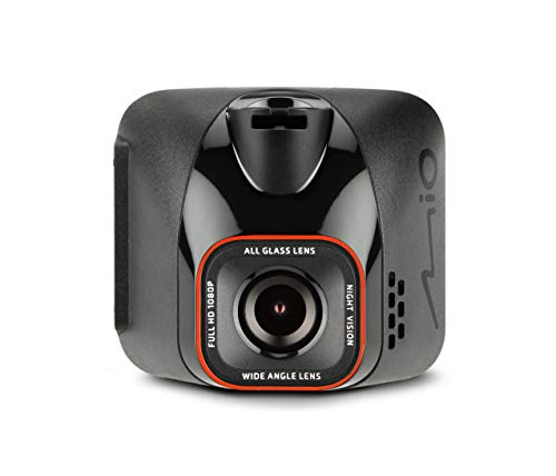 Mio Mivue C570 Dash Cam with Sony's Premium Starvis CMOS, Full HD 1080P, GPS, Smart Alerts, Car Video Dash Camera