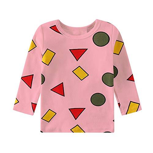Rundhals Langarm T-Shirt Tops Bluse Freizeitkleidung für Unisex Neugeborenen und...