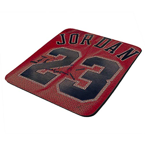 Grafitti Chicago Jordan Tribute - Mouse Pad Thick Neoprene Rectangle for Home Office & Gamers (use as a Water Proof hot pad,Trivet,Mousepad)