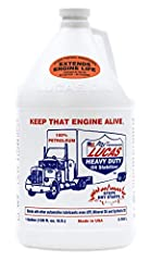 Increase oil life at least 50% longer Reduces oil consumption 100% petroleum product formulated to eliminate dry starts and reduce friction, heat and wear in any type of engine Raises oil pressure Increases power and miles per gallon Made in the USA ...