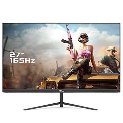 Preisvergleich Produktbild XXD JINLO Monitor 68, 6 cm (27 Zoll) Gaming Monitor(Full HD,  1 ms Reaktionszeit, 165Hz HDMI, 1920 x 1080 Pixel) Schwarz / BlancBlack