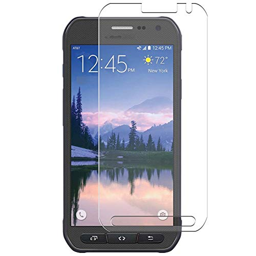 Vaxson 4 Unidades Protector de Pantalla, compatible con Samsung Galaxy S6 active SM-G890 [No Vidrio Templado] TPU Película Protectora