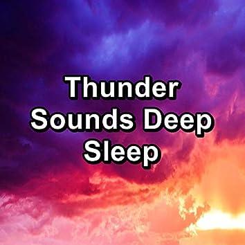 Thunder Sounds Deep Sleep