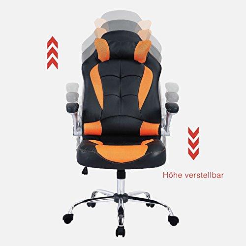 mecor Gaming Stuhl Racing Stuhl Leder Bild 4*