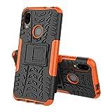 ZAORUN Couvre-Cas Protection de Téléphone Portable Coque Antichoc Compatible for TPU + PC...