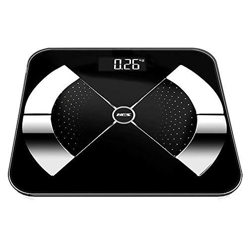 Household applia Haushaltsdigitale Personenwaage, HochpräZise Elektronische Waage 200g-180kg, LCD-Display mit Hintergrundbeleuchtung, Auf Zwei Dezimalstellen Genau Automatischer Schwerkraftschalter
