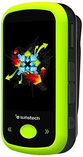 Sunstech IBIZABT - Reproductor MP4, Color Verde