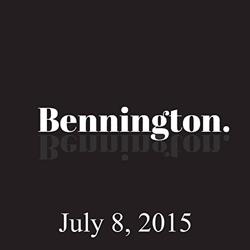 Bennington, Will Dana, July 8, 2015 audiobook cover art