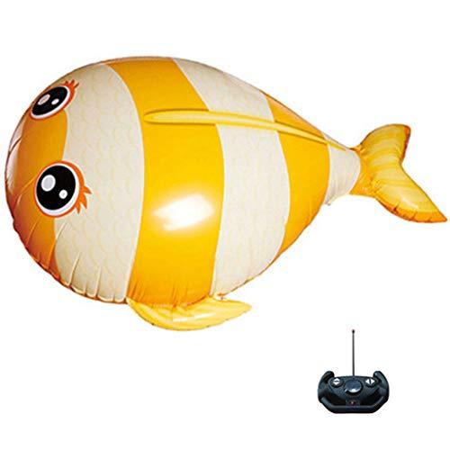 chiwanji RC Infrarot Luft Fliegen Schwimmen Kinder Baby Ferngesteuertes Spielzeug Gelb