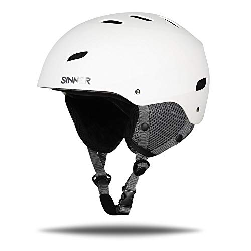 SINNER Skihelm voor Mannen, Vrouwen & Kinderen - Ski & Snowboard Helm met Verstelbare Grote & Meerdere Kleuren