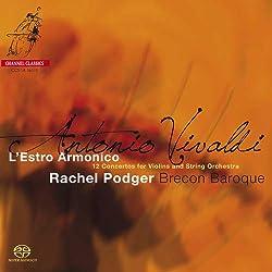 Vivaldi : l'Estro Armonico, Douze Concertos pour Violon. Podger, Brecon Baroque