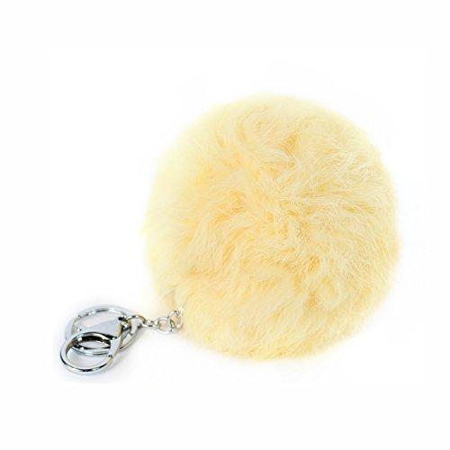 Glamexx24nuevo blandito, dulces y llavero, diseño de suave piel de conejo en...