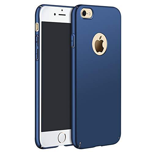 Hexcbay Cover Compatibile con iPhone 8 iPhone 7 Custodia, Sottile Leggera Leggera Ultra Sottile in plastica Protezione Completa Anti-graffio Anti-Impronta Custodia Opaca Custodia Protettiva