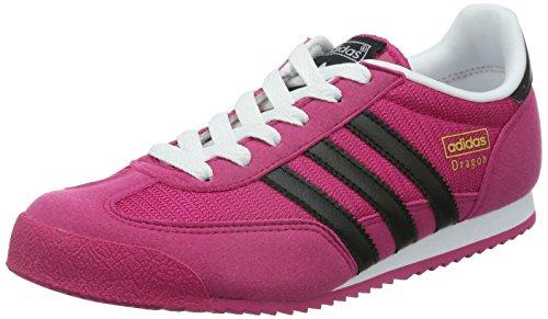 adidas Originals Unisex-Kinder Dragon Low-Top, Pink (Bold Pink/Core Black/Ftwr White), 36 2/3 EU