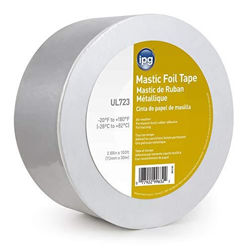 IPG ALF Butyl Mastic Foil Tape, 2.88