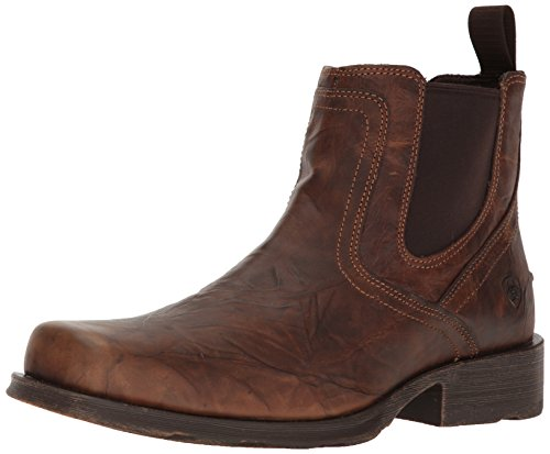 Ariat Men's Midtown Rambler Western Boot Casual Shoe, Barn Brown, 12 2E US