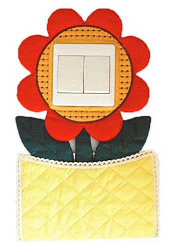 Switch Switch Cover Autocollants Tournesol Stickers muraux Avec Sac Pocket