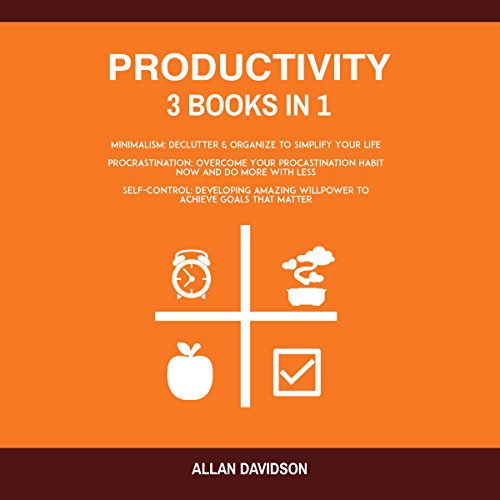 Productivity: 3 Books in 1 audiobook cover art