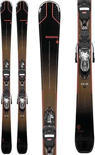 Rossignol Experience 76 Ci W Xpress W 10 Esquís con fijación, Mujeres, Negro, 154 cm