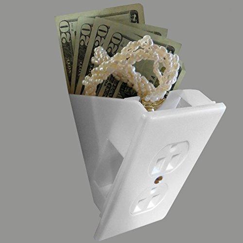 Evelots Hidden Wall Safe Diversion Safe Outlet Safe, Hide Valuables, Cash Photo #6