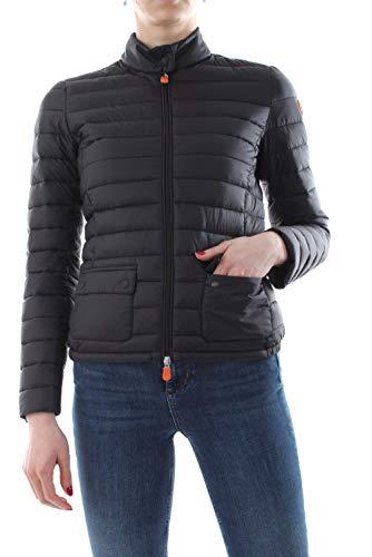 Save The Duck Damen Women's Blake Jacket Kunstfaserjacke Schwarz L